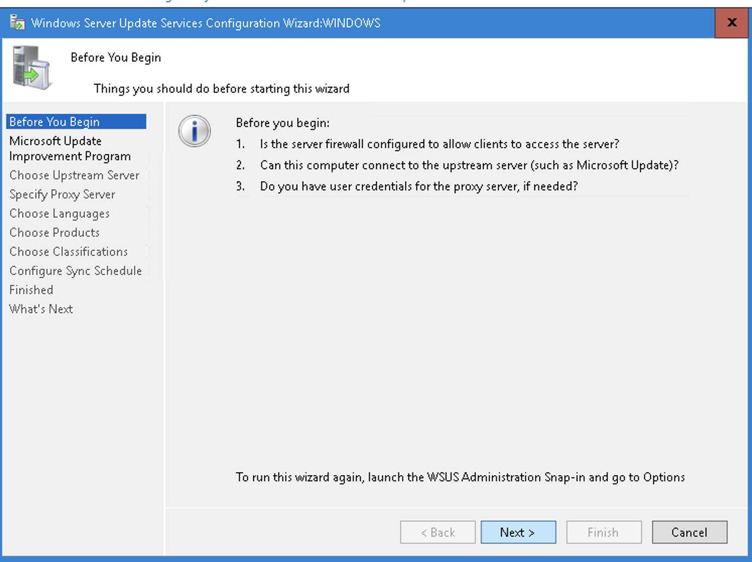 Configure-WSUS