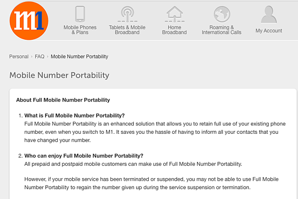 Full number portability