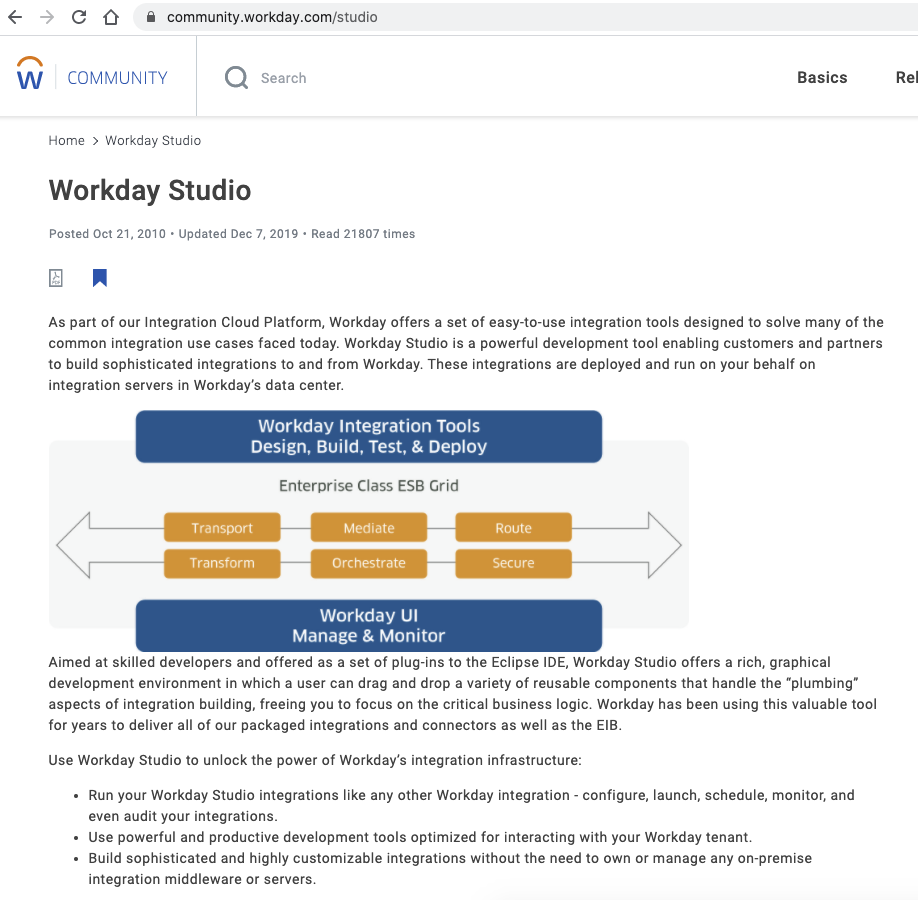 Workday-Studio-Overview