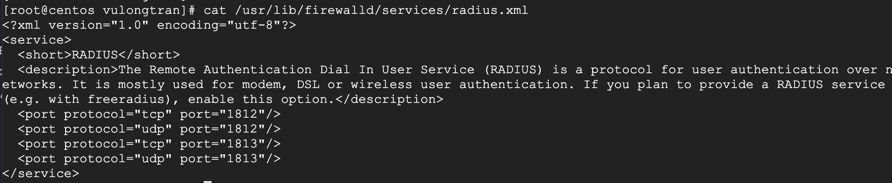 freeradius-open-ports