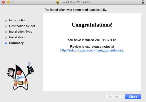 Install open source Java Zulu