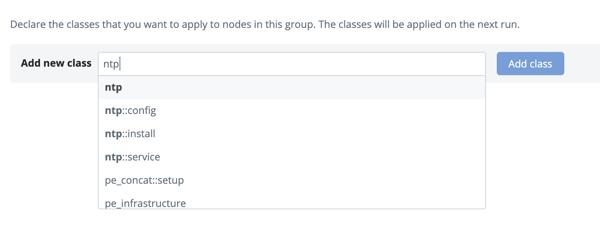 NTP add class