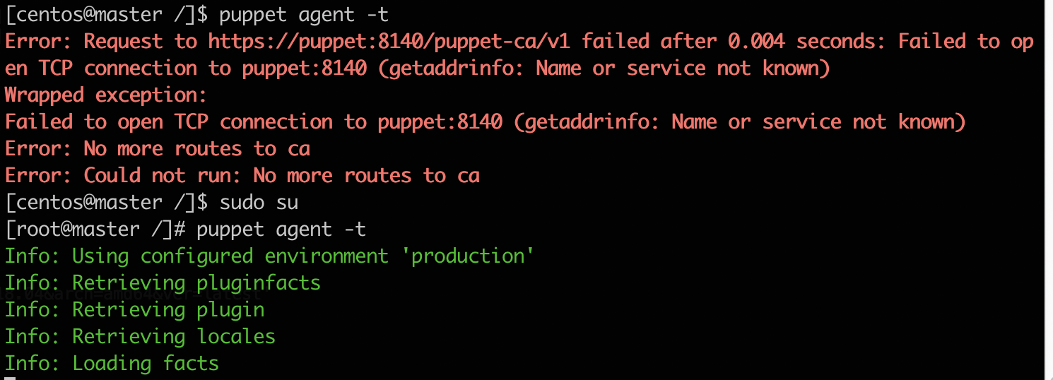 puppet-8140-name-or-service