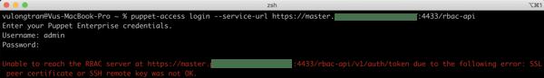 SSL peer error