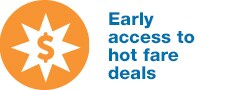 Tigerair platinum - early access to to hot fare deals