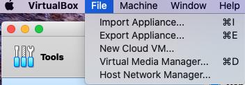 import-appliance-virtualbox