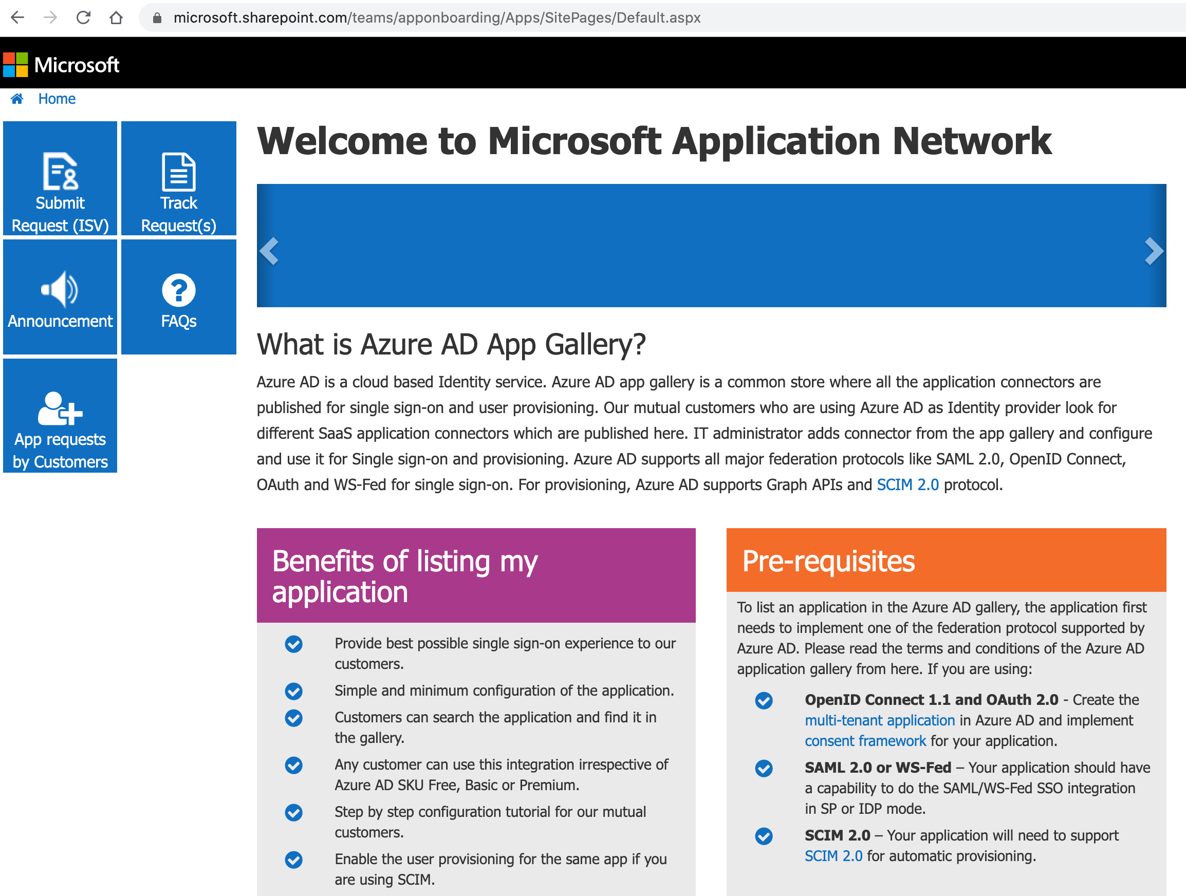Microsoft Application Network