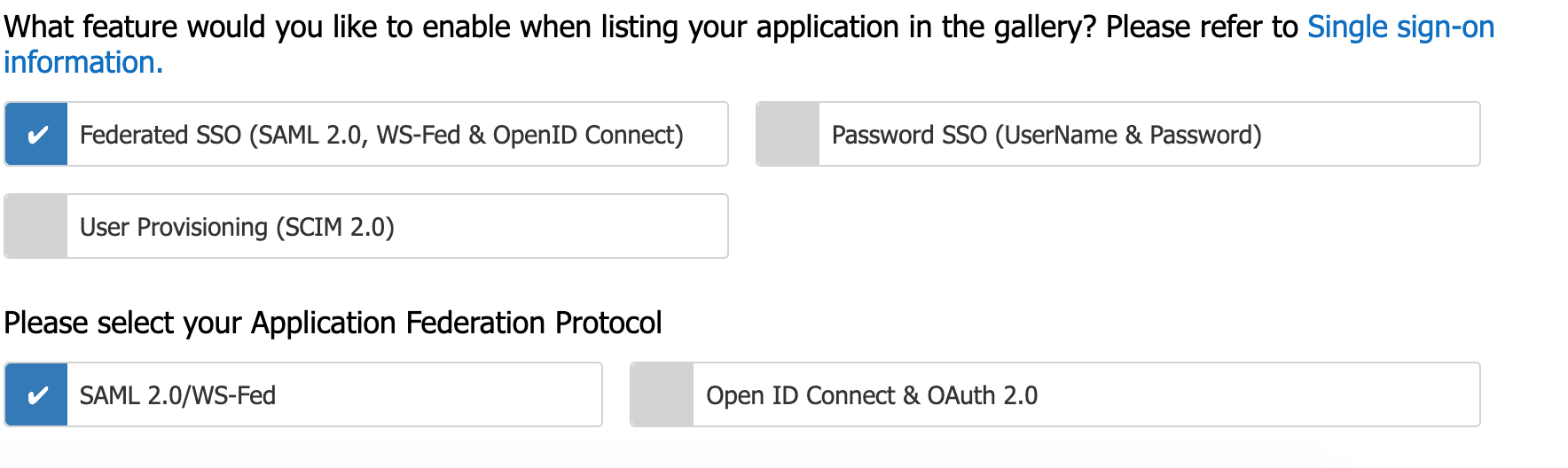 Microsoft Application Network application form